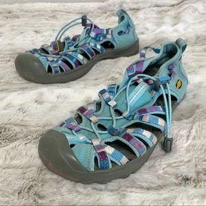 Keen Newport H2 Water Shoes Sandals Blue Purple